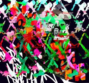 Graffiti, tipografías, arte urbano, mayo 68, geometría