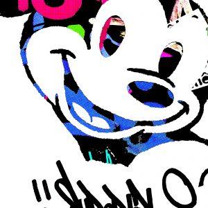 Mickey, comic, cartoon, graffiti