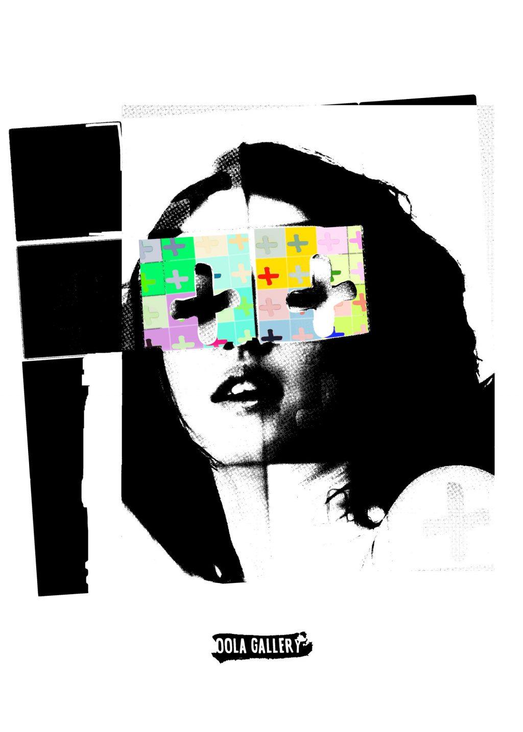 Pin Up, Retrato, graffiti, fotografía